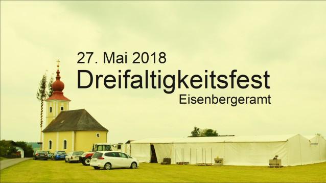 Dreifaltigkeitsfest am 27. Mai 2018