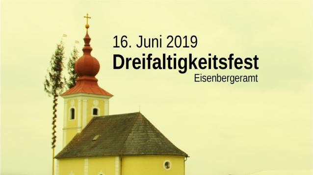 Dreifaltigkeitsfest am 16. Juni 2019