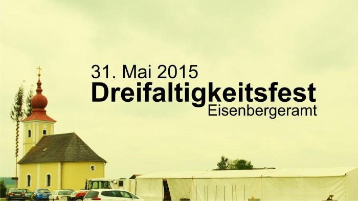 Dreifaltigkeitsfest am 31. Mai 2015